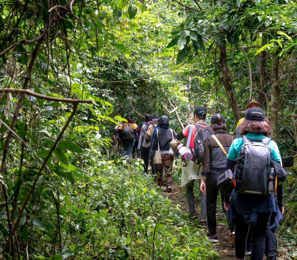 du lịch trekking vườn Nam Cát Tiên