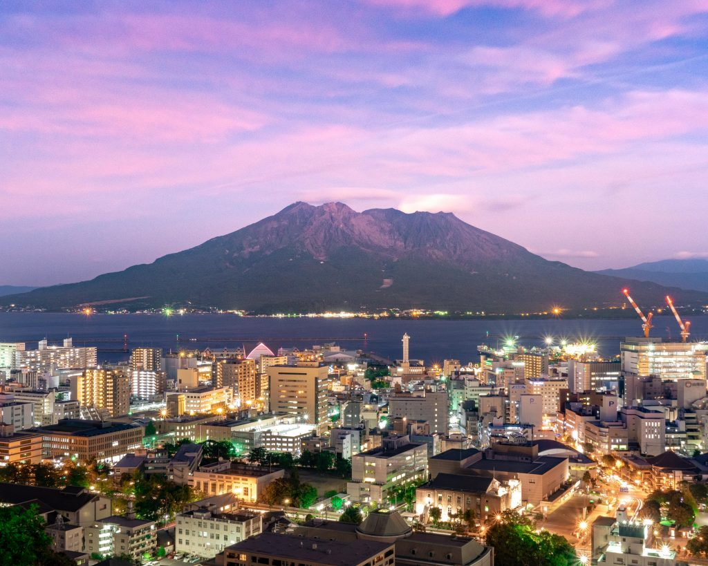 Du lịch Kagoshima - Núi lửa Kagoshima
